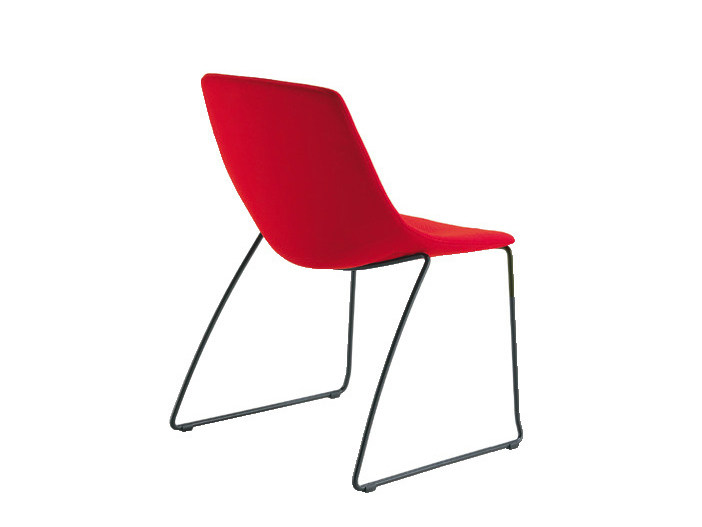 Sled base reception chair FREE | Sled base chair by Sesta