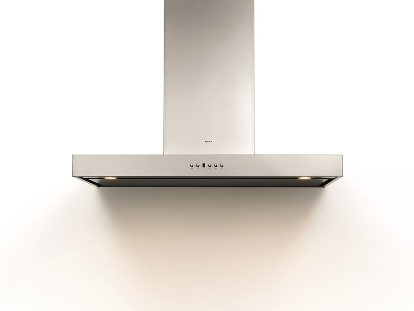 Wall-mounted cooker hood with integrated lighting 6201 SALSA - NOVY