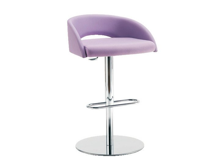 High stool with footrest LOLA | High stool - Sesta