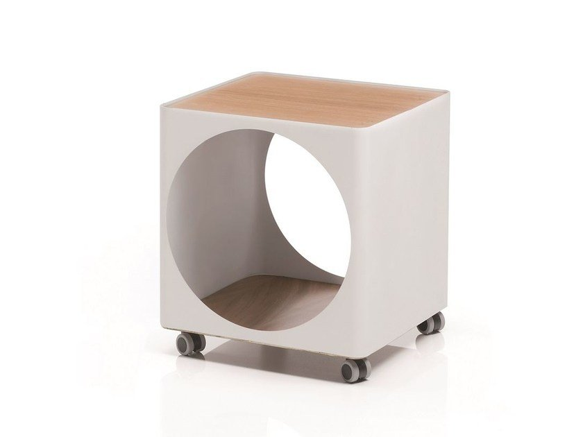 Modular storage unit with casters RING | Storage unit with casters - B-LINE