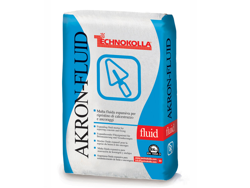Mortar and grout for renovation AKRON-FLUID by TECHNOKOLLA - Sika