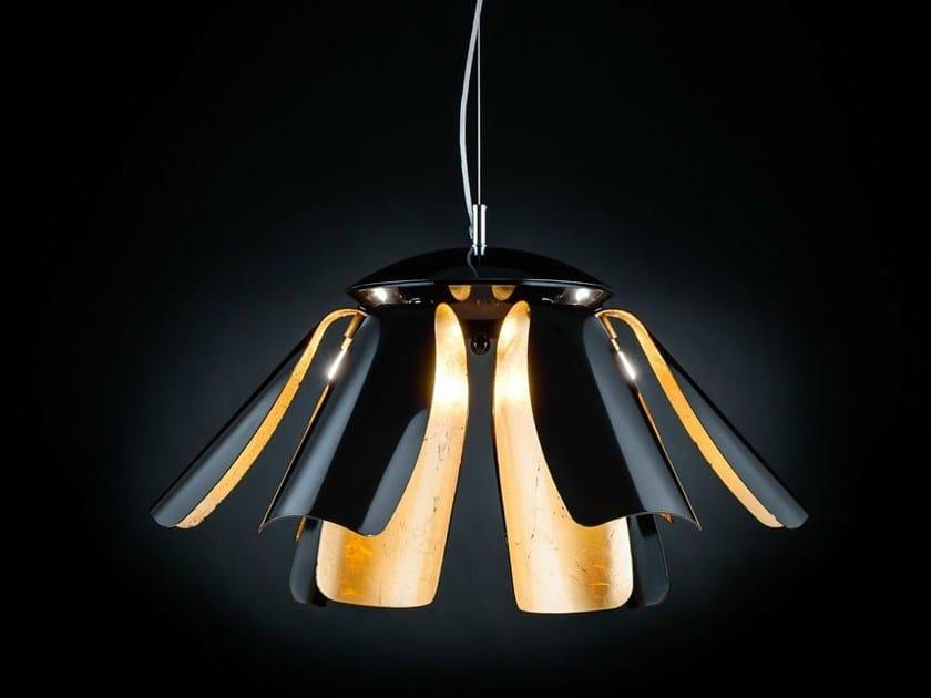 Gold leaf pendant lamp TROPIC | Pendant lamp by Metal Lux