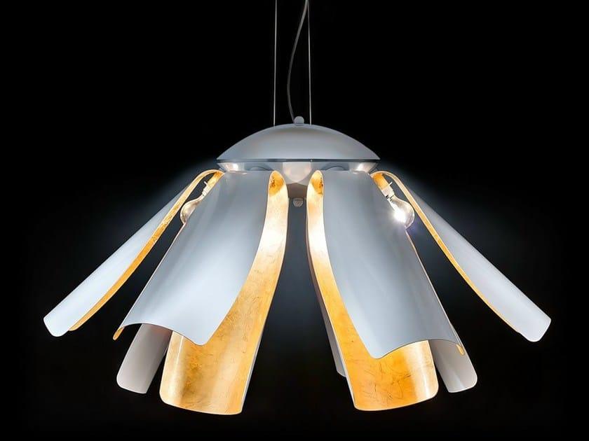 Gold leaf pendant lamp TROPIC | Pendant lamp - Metal Lux di Baccega R. & C.