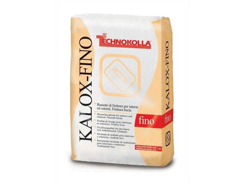 Skim coat and cementitious finish for plaster KALOX FINO - TECHNOKOLLA - Sika