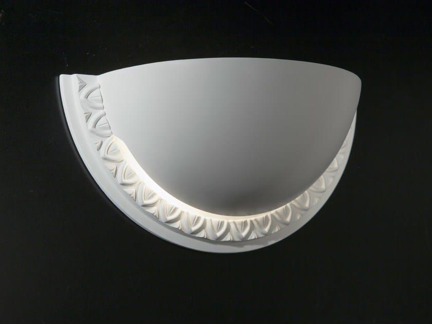 Gypsum wall light CHIARODÌ | Wall light - Metal Lux di Baccega R. & C.