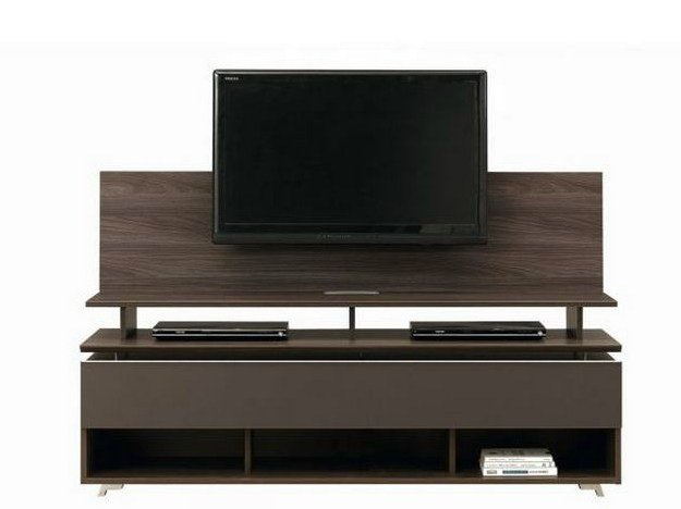 Banc tv avec support tv artigo collection artigo by gautier france - Table tv avec support ...