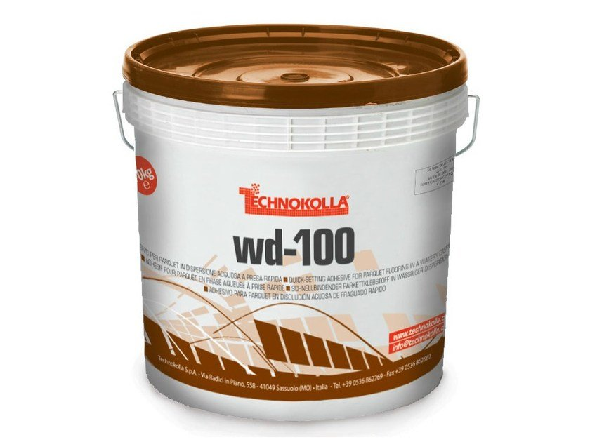 Adhesive for flooring WD-100 by TECHNOKOLLA - Sika