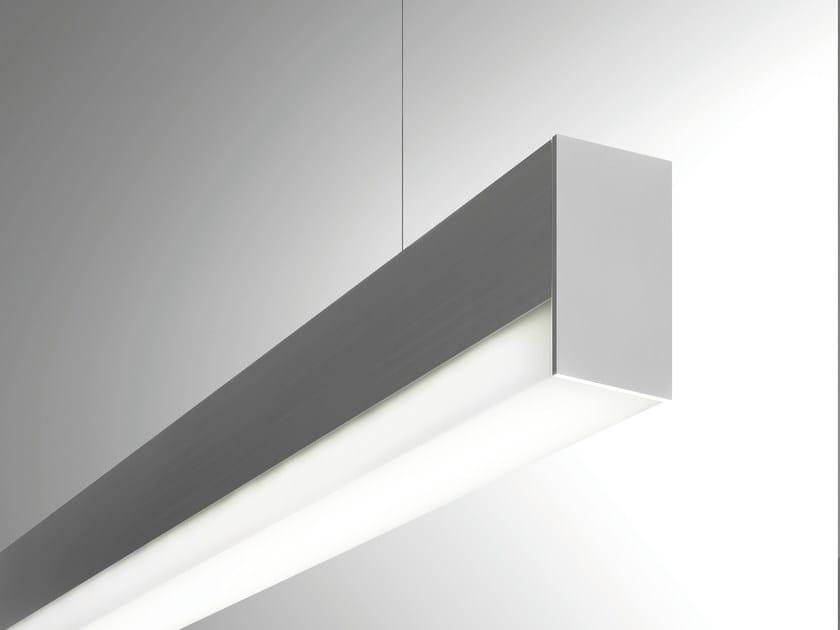 Extruded aluminium pendant lamp MINIFILE OPENLIGHT | Pendant lamp by LUCIFERO'S
