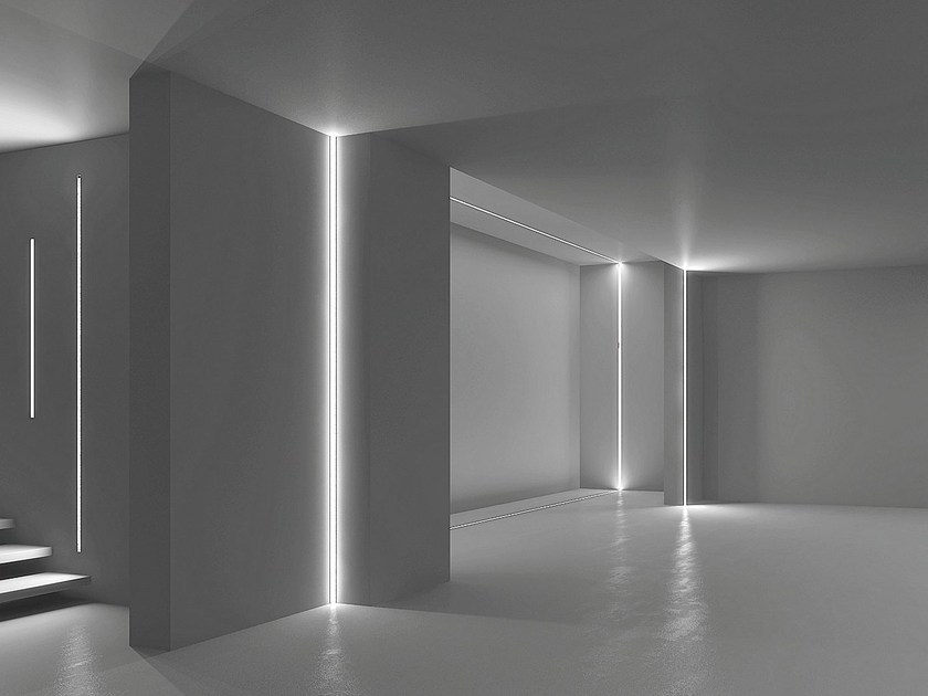 Wall-mounted Linear lighting profile MICROFILE | Wall-mounted Linear lighting profile - LUCIFERO'S