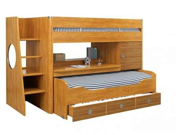 majestic bunk bed by gautier france. Black Bedroom Furniture Sets. Home Design Ideas