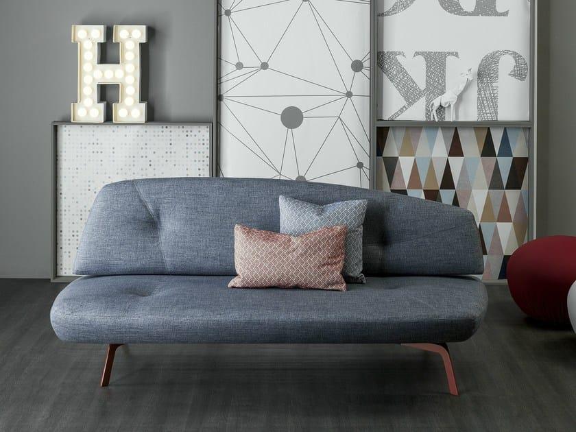 Convertible fabric sofa bed BANDY | Sofa bed - Bonaldo