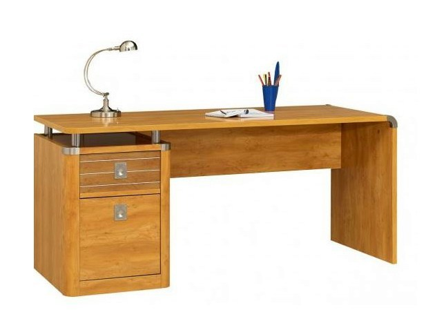 Desk with 2 drawers MAJESTIC | Writing desk - GAUTIER FRANCE