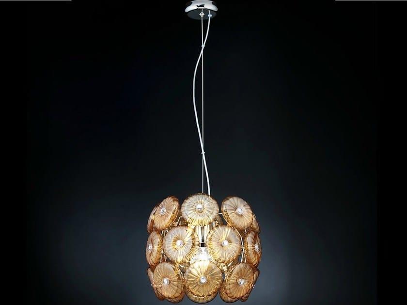 Crystal pendant lamp STAR | Pendant lamp - Metal Lux di Baccega R. & C.