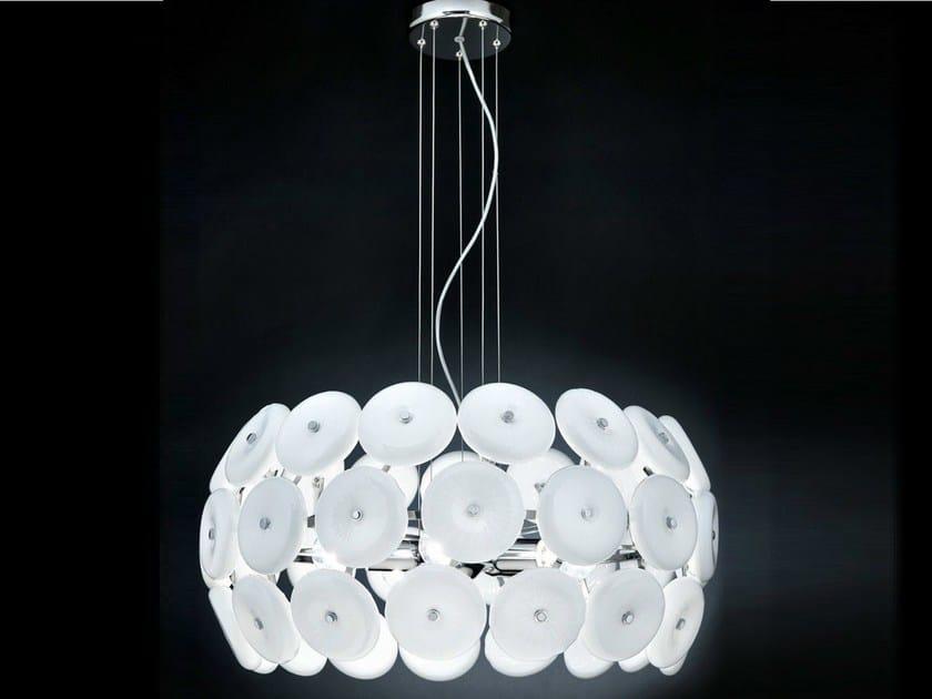 Crystal pendant lamp STAR   Pendant lamp - Metal Lux di Baccega R. & C.