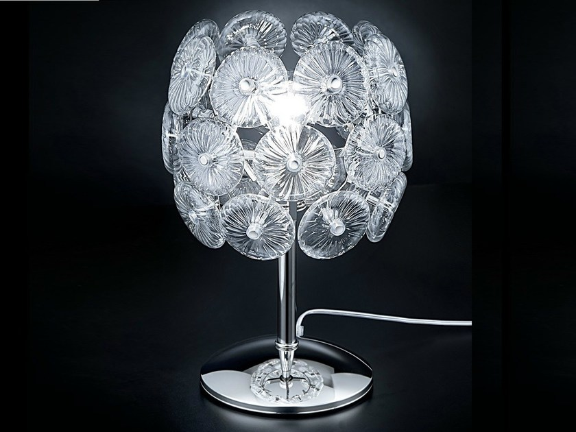 Crystal table lamp STAR | Table lamp - Metal Lux di Baccega R. & C.