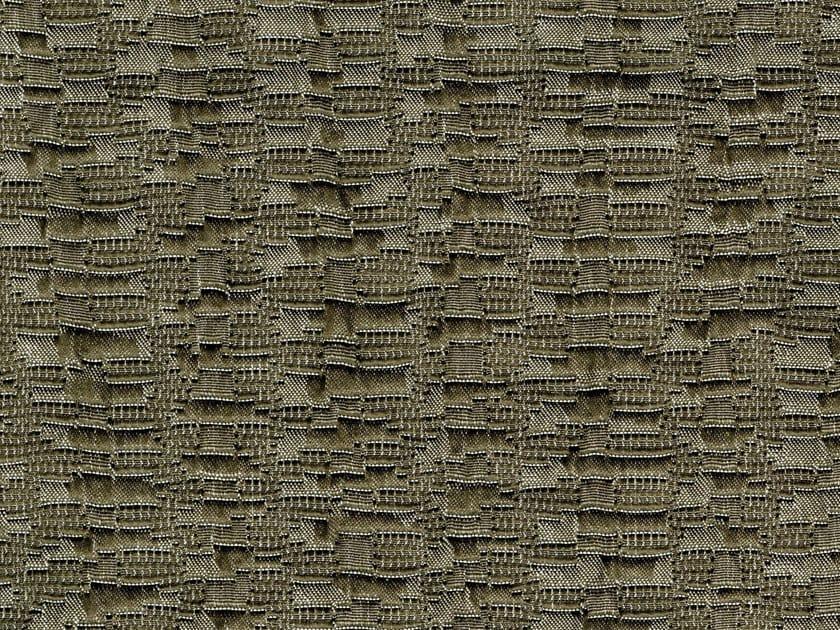 Solid-color cotton fabric GROUNDTRACK - KOHRO