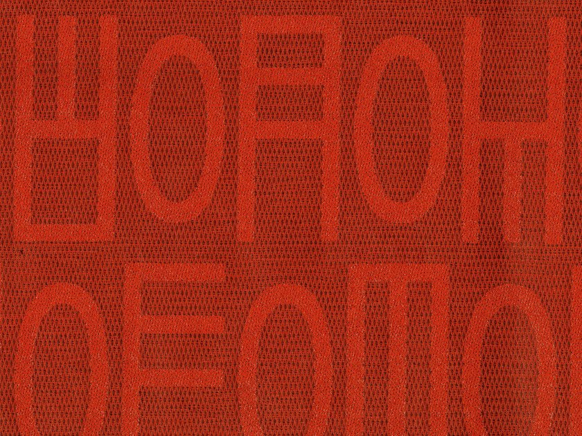 Cotton fabric with graphic pattern NEON GLOOM - KOHRO