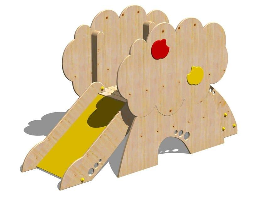 Wooden Slide TORRE MELO - Legnolandia