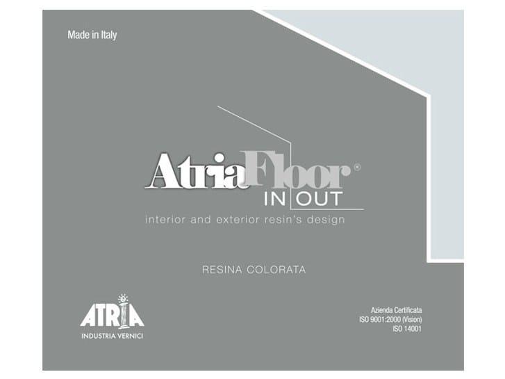 Outdoor wall/floor tiles ATRIAFLOOR IN OUT by COLORIFICIO ATRIA