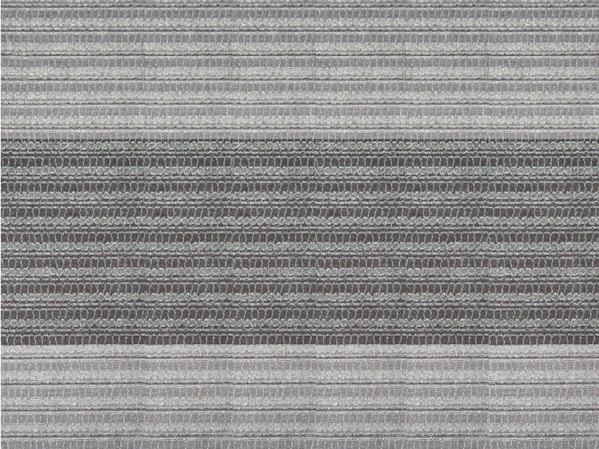Striped cotton and linen fabric ASAWA 1 - KOHRO
