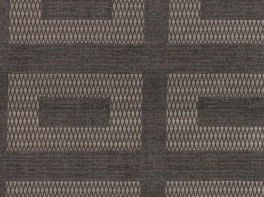 Cotton fabric with graphic pattern TASSILO GRAIN by KOHRO