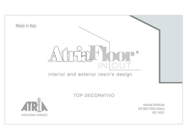 Outdoor wall/floor tiles ATRIAFLOOR IN OUT TOP DECORATIVO - COLORIFICIO ATRIA