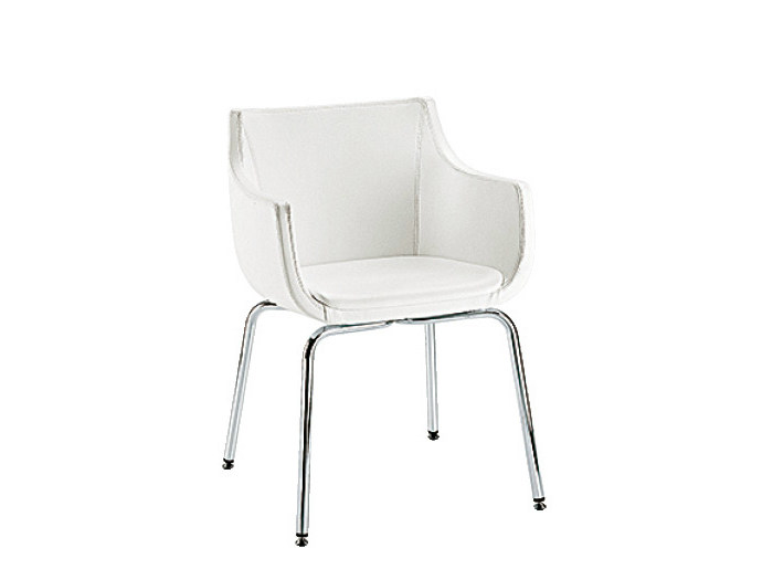 Guest chair with armrests D&N PAD | Easy chair - Sesta