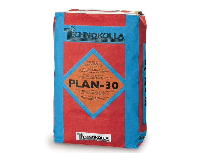 Self-levelling screed PLAN-30 by TECHNOKOLLA - Sika
