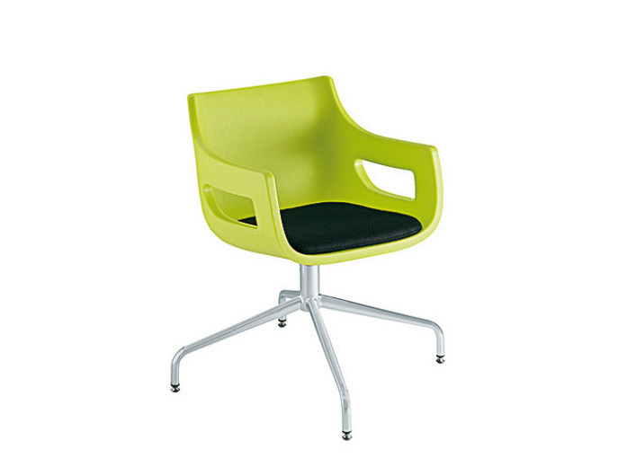 Swivel chair with 4-spoke base DAY&NIGHT | Swivel chair - Sesta