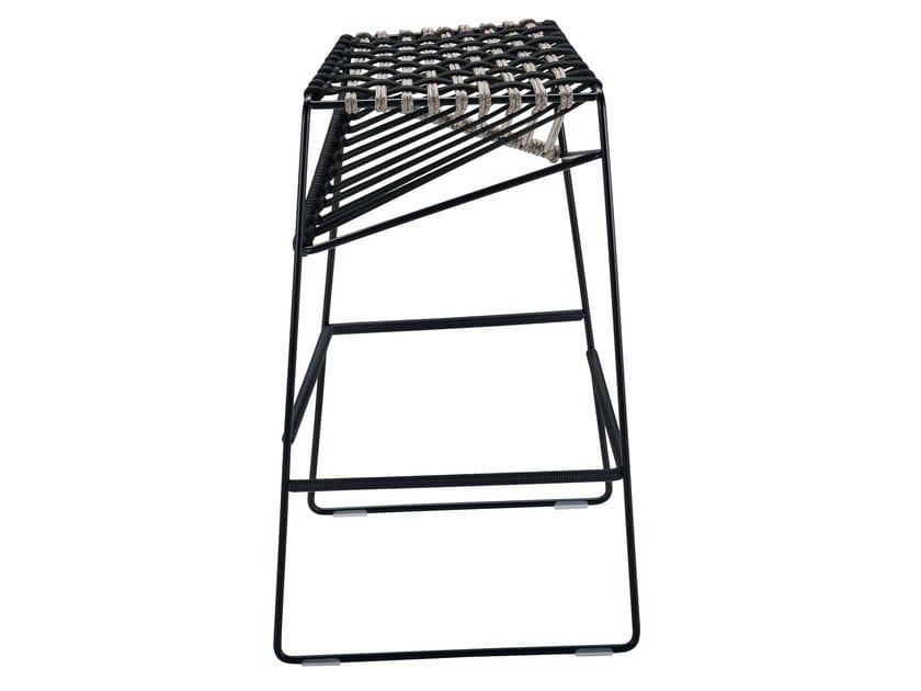 High sled base stool TWIST 2287 - Zanotta