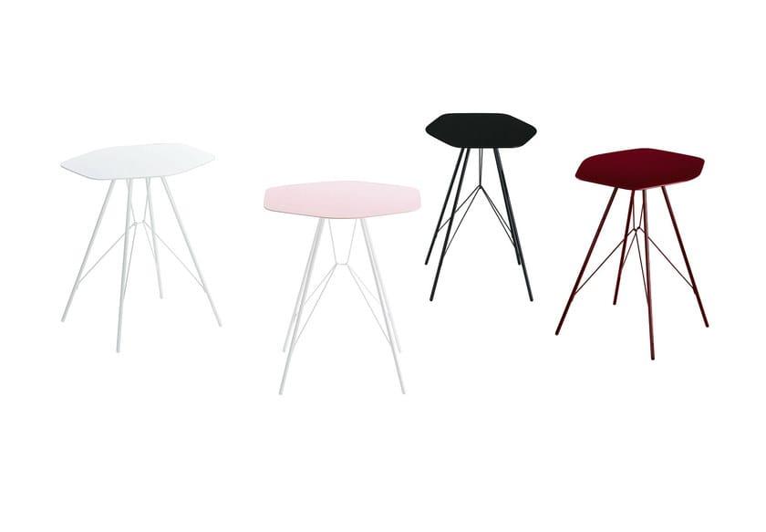 Lacquered coffee table EMIL - Zanotta