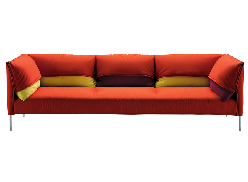 Sofa with removable cover UNDERCOVER - Zanotta