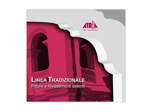 Skim coat and cementitious finish for plaster INERPLAST RASANTE - COLORIFICIO ATRIA