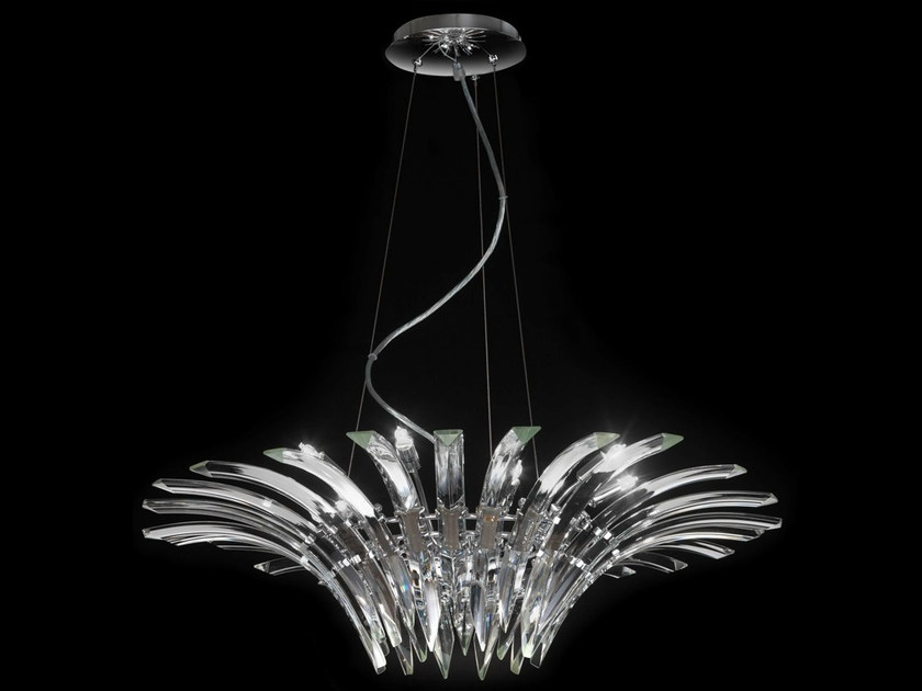 Crystal chandelier SURF | Chandelier - Metal Lux di Baccega R. & C.