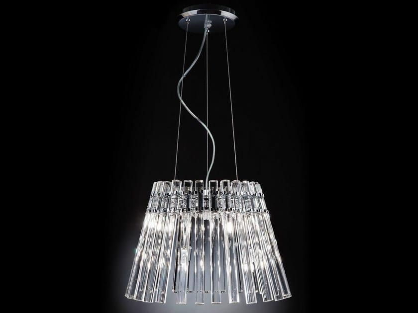 Crystal pendant lamp CIRCLE | Pendant lamp - Metal Lux di Baccega R. & C.