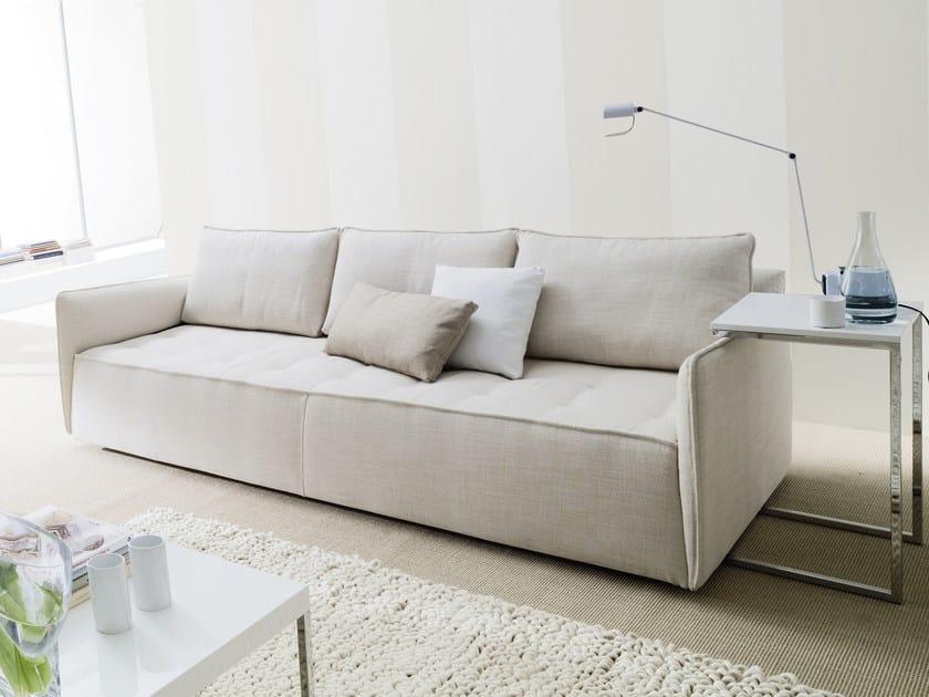Divano in tessuto antares divano a 3 posti bontempi - Pulire divano tessuto ...