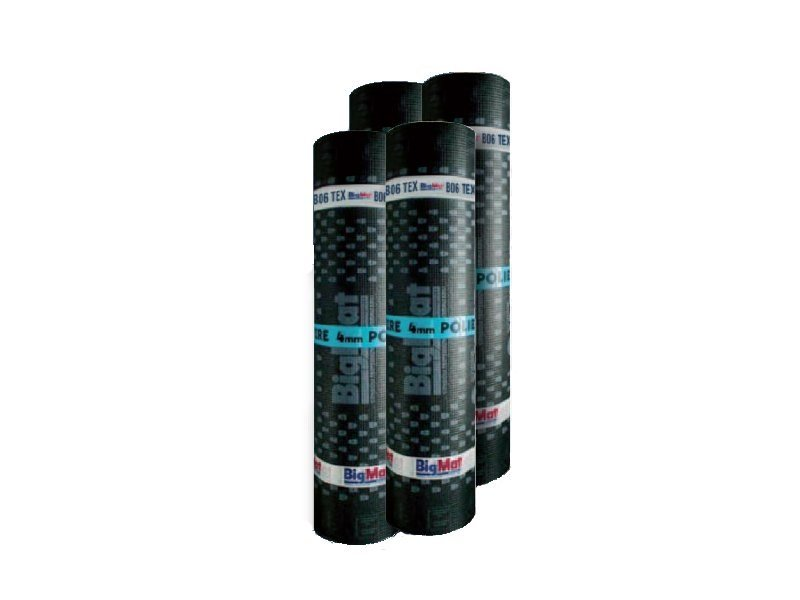 Prefabricated bituminous membrane B06 TEX - BigMat Italia