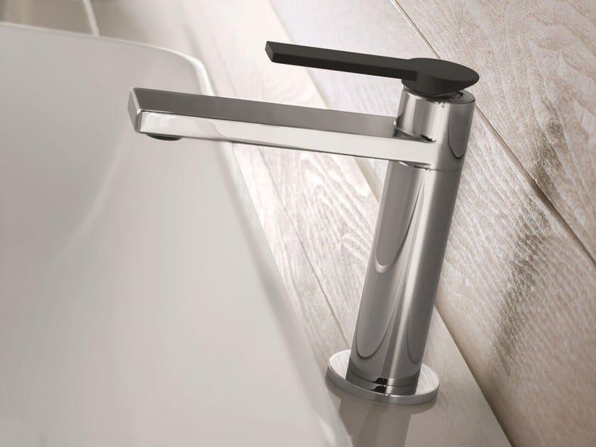 Countertop chromed brass washbasin mixer MACÒ | Washbasin mixer - GEDA