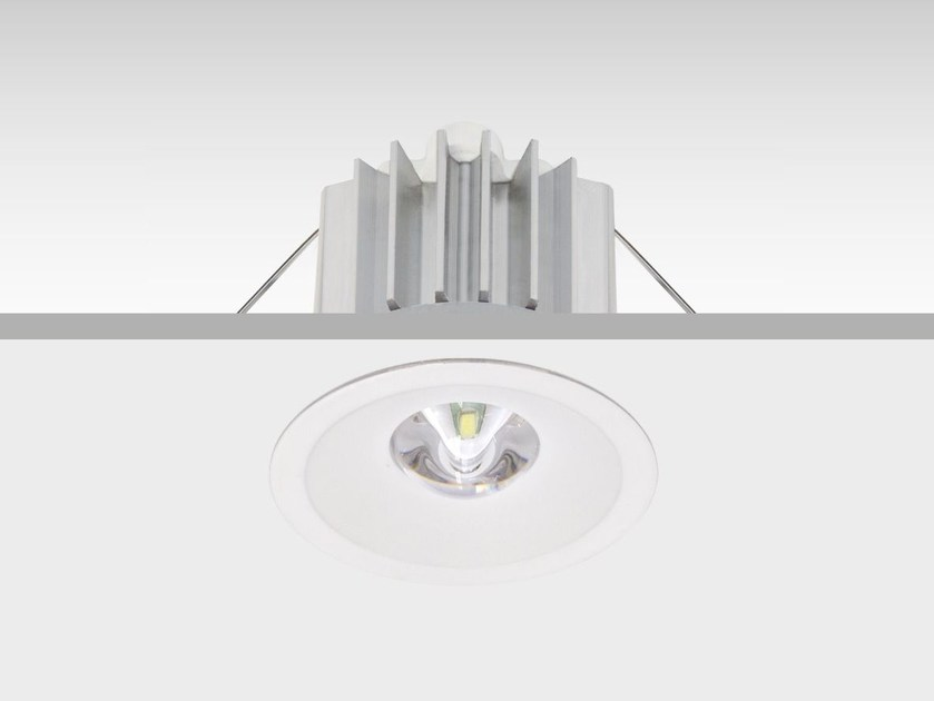 LED ceiling-mounted emergency light IZAR by DAISALUX