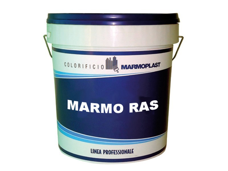 Skim coat and cementitious finish for plaster MARMO RAS by Marmoplast