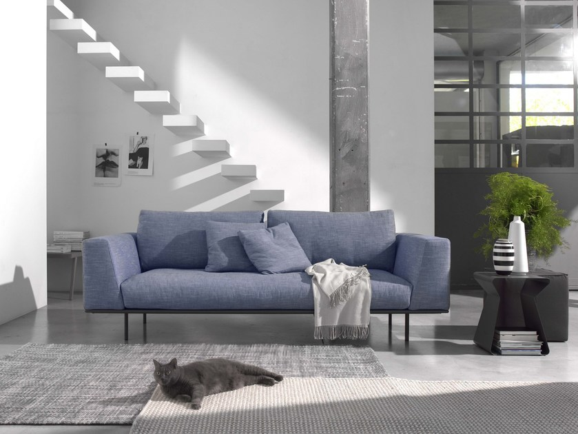 Fabric sofa DAKOTA | 2 seater sofa by Bontempi Casa