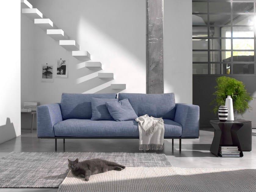 Fabric sofa DAKOTA | 2 seater sofa - Bontempi Casa