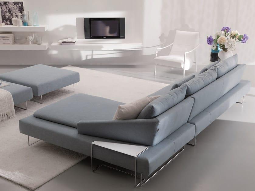Fabric sofa ITACA | Corner sofa - Bontempi Casa