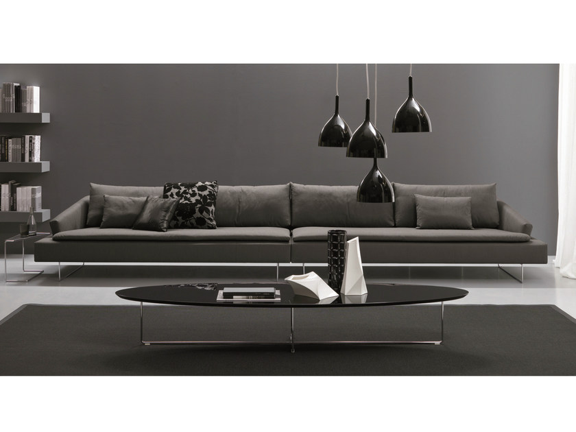 Fabric sofa ITACA | 6 seater sofa - Bontempi Casa