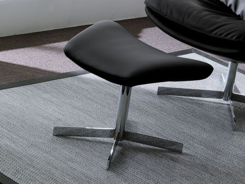 Footstool with 4-spoke base DAYA | Footstool - Bontempi Casa