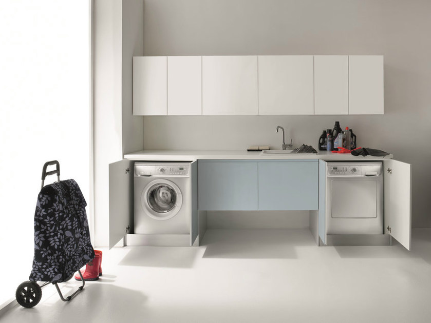 idrobox waschk che schrank mit fl gelt ren by birex. Black Bedroom Furniture Sets. Home Design Ideas