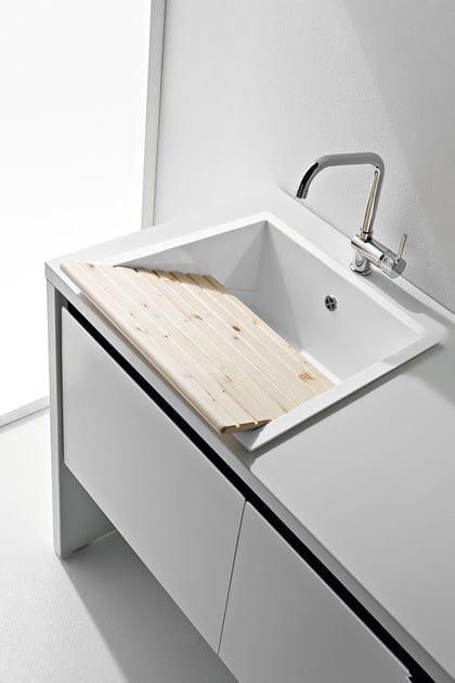 mobile lavanderia componibile laccato con lavatoio idrobox mobile lavanderia componibile birex. Black Bedroom Furniture Sets. Home Design Ideas