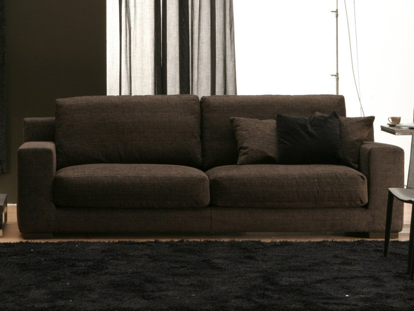 Sofa with removable cover MIDA | 3 seater sofa - Bontempi Casa