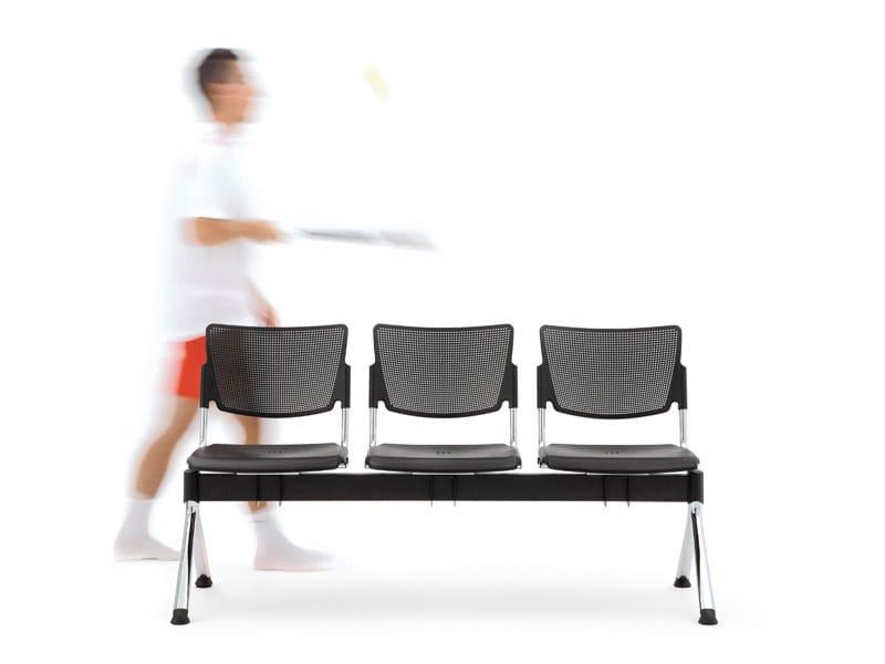 Polypropylene beam seating LAMIA PLASTIC   Beam seating - Diemmebi