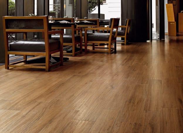 Pavimento rivestimento in gres porcellanato effetto legno - Sant agostino piastrelle ...